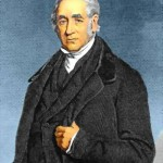 George Stephenson. He started Britain's railways