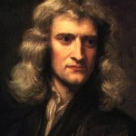 Isaac Newton, the discoverer of the law of gravitation