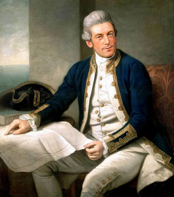 The History of England » Famous people » James Cook. The
