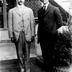 Orville and Wilbur Wright. From glider to flying machine