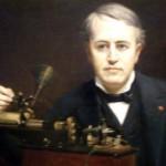 Thomas Alva Edison. The wizard of Menlo park